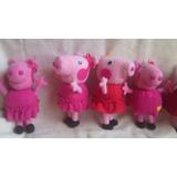 Peluches De La Serie Animada Peppa Pig Y George
