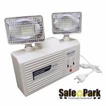 Luminária Emergência Led 2 Faróis 1.200 Lumens - Segurimax
