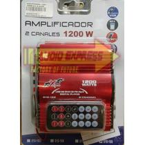 Amplificador 2 Can 1200w 4 A 16 Omhs Dxr010166