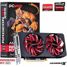 Placa De Video Radeon R7 265 Hammer X Dual-fan 2gb 256bit