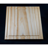 Plato /madera 20cm Pino Taeda Seco Curados Torneria Tecnica