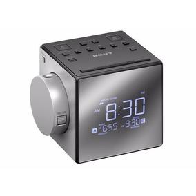 Sony Rádio Relógio Duplo Com Projetor Tempo / Modelo Novo