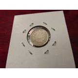 Moneda Del Mundo Plata Guatemala 5 Centavos 1956