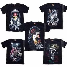 Camisa Camiseta Ogabel Original Kit/6 Estilo Thug Nine Knulu