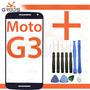 Tela Vidro Lente Moto G 3 G3 Xt1543 Xt1544 + 3m + Ferramenta