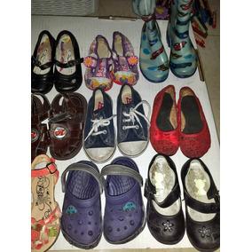 Zapatos De Niña Y Niño Seminuevos, Usados,