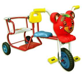 Triciclo Para Dos Niños! Para Divertirse Juntos!
