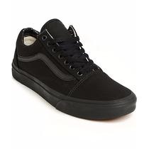 Tenis Vans Old Skool Negro Total Black/black Skate Patineta