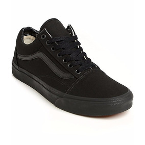 Tenis Vans Old Skool Negro Total Black/black Skate Patineta