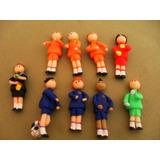 Kit De Torta Futbolistas 8 Jugadores Mas Arbitro