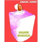 Sauna Nativo Portatil Desarmable-con Capucha-(envío Gratis)