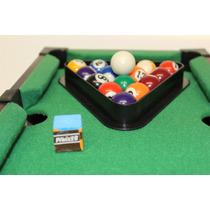 Jogo Mini Mesa Bilhar Snooker Sinuca - Frete Grátis