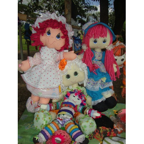 Muñecas De Trapo Artesanales Grandes