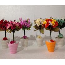 Arranjo Mini De Flores Artificiais Em Vaso Mini Unitário