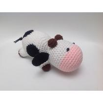 Vaca Amigurumi / Muñeco Tejido