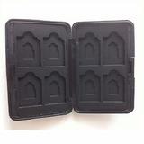 Case De Aluminio Porta Cartão Memoria 08 Sd /mmc