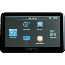 Gps Automotivo Foston Tela 7 Tv Digital Radar Atualizado