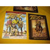 Tex Nº 400 Gibi Especial + Encarte Capas Mythos Estado Novo