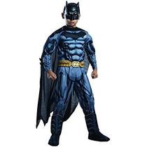 Disfraz Traje Del Traje De Superhéroes De Dc Batman Niño De