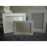 Portaretratos Fibrofacil Madera 10x15 Con Vidrio