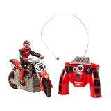 Mxs Rc De Super Stunt Bike - Rojo