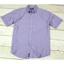 Camisa Ben Sherman Oxford Clássica Gg Violeta Perfeita