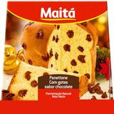 Panettone Chocottone C/ Gotas De Chocolate 400g - 18un Maitá