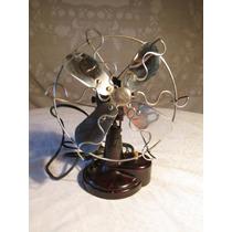 Ventilador De Vaquelita Antiguo. Coleccionable.