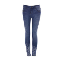 Sarkany James - Pantalon Mujer Denim Chupin Con Roturas