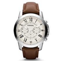 Relógio Fossil Masculino Cronograph Fs4735 Garantia 2 Anos!