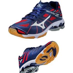 Mizuno Wave Lightning Z Voleibol Gym, Squash, Azul Unisex