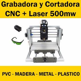 Máquina Cnc Grabadora Cortadora Fresa Router + Laser 500mw