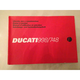 Ducati 996 748 Manual Usuario
