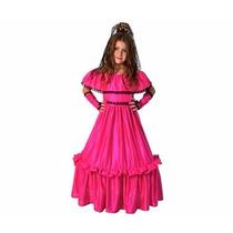 Disfraz De Dama Antigua Completo Talle 1 Al 4