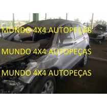 Sucata Da Crv 2.0 16v Gas. 2010 Com Motor E Cambio E Peças