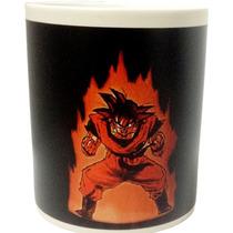 Taza Magica 10pza Goku Dragon Ball,totoro, Sin Cara, Gato 3d