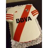 Torta Camiseta Equipo De Football. Cumple Años, Eventos.