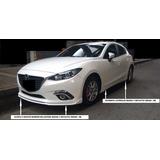Bigote Y Estribos Laterales Mazda 3 Skyactiv Hb/sedan