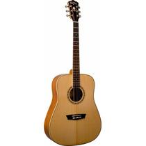 Washburn Wd10sns Guitarra Acustica Natural Satin - Oddity