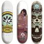 Shape P/ Skate Barato Com Fiberglass Vários Tamanhos + Lixa