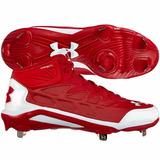 Excelentes Spikes Beisbol Under Armour Heater St Rojo