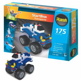 Rasti Startbox Transporte 175 Piezas 4 En 1 - Mundo Manias