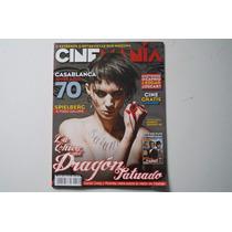 Revista Cinemania La Chica Del Dragon Tatuado
