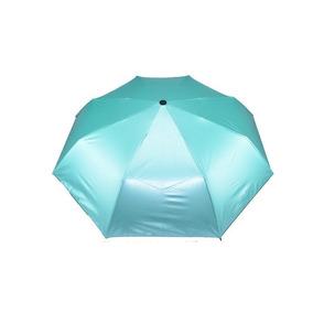 Paraguas Azul Turquesa Plumas Pavo Real