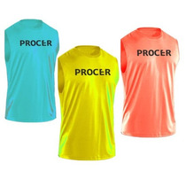 Remeras Musculosas Dry Fit Procer Fútbol Tenis Atletismo Gym