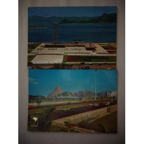 Cartão Postal Rj Aterro Flamengo Monumento Heróis 2ª Guerra