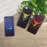 Protector Pokemon Go Insignias Para Iphone 5 / 6 / 6 Plus
