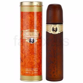 Perfume Cuba Gold Masculino 100ml Dourado Lacrado