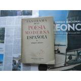 Azcoaga Panorama De La Poesía Moderna Española