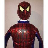 Traje De Hombre Araña Spiderman Para Niño